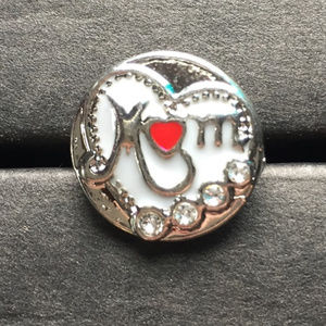 18mm Snap Button Charm